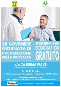 La locandina dello screening